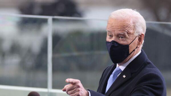 Избранный президент США Джо Байден перед инаугурацией - Sputnik Тоҷикистон