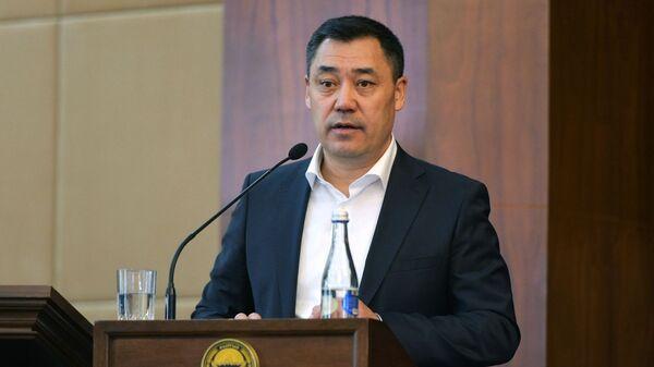 Новоизбранный премьер-министр Садыр Жапаров - Sputnik Таджикистан