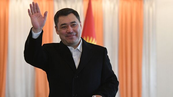 Новоизбранный премьер-министр Садыр Жапаров - Sputnik Тоҷикистон