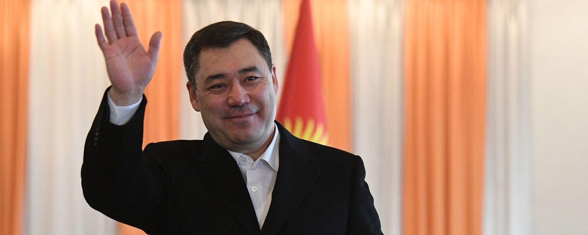 Новоизбранный премьер-министр Садыр Жапаров - Sputnik Таджикистан, 1920, 04.03.2021