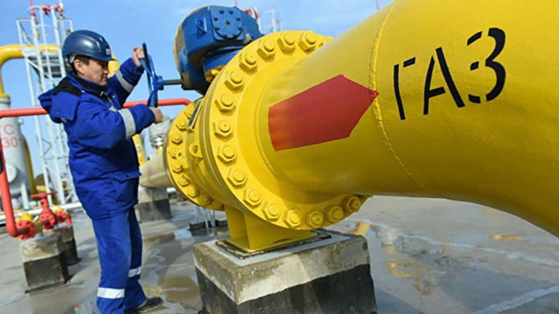 "Последнее звено трансазиатского газопровода ""Центральная Азия - Китай"" запущено в Казахстане - Sputnik Таджикистан, 1920, 30.09.2021"