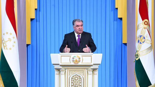 Послание президента Таджикистана парламенту - Sputnik Тоҷикистон