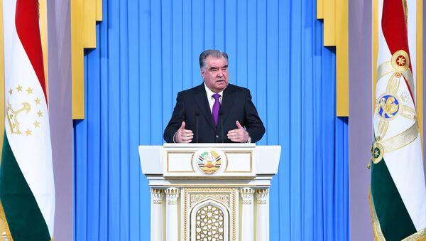 Послание Президента Республики Таджикистан, Лидера нации Эмомали Рахмона - Sputnik Тоҷикистон
