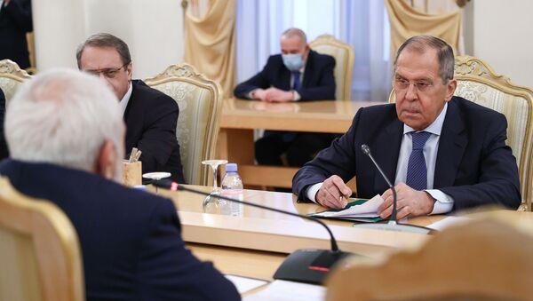 Лавров: Россия заинтересована в углублении диалога с Ираном по Карабаху - Sputnik Тоҷикистон