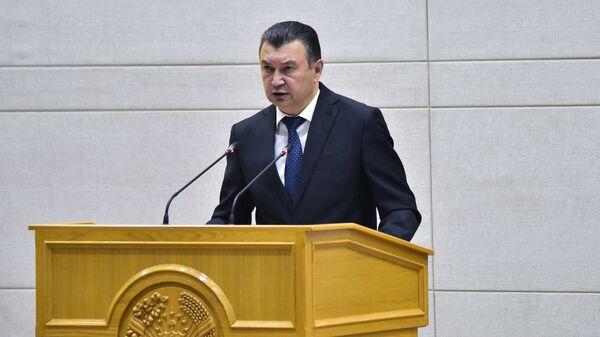 Премьер-министр Таджикистана Кохир Расулзода на заседании правительства 2021 - Sputnik Таджикистан