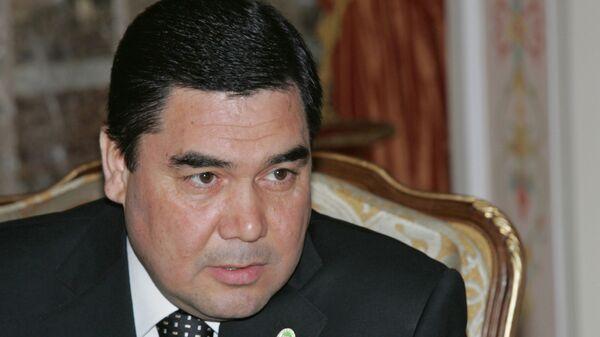 Президент Туркменистан Гурбангулы Бердымухаммедов - Sputnik Тоҷикистон