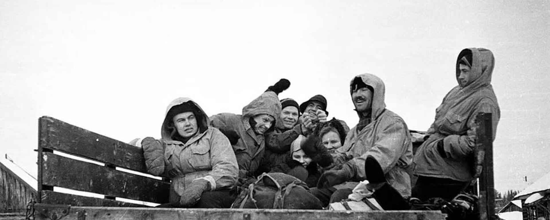 Фотография Игоря Дятлова, сделанная во время похода. - Sputnik Таджикистан, 1920, 29.01.2021