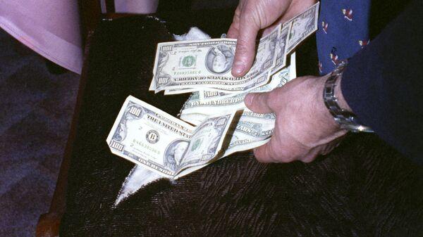 Купюра, доллар - Sputnik Таджикистан