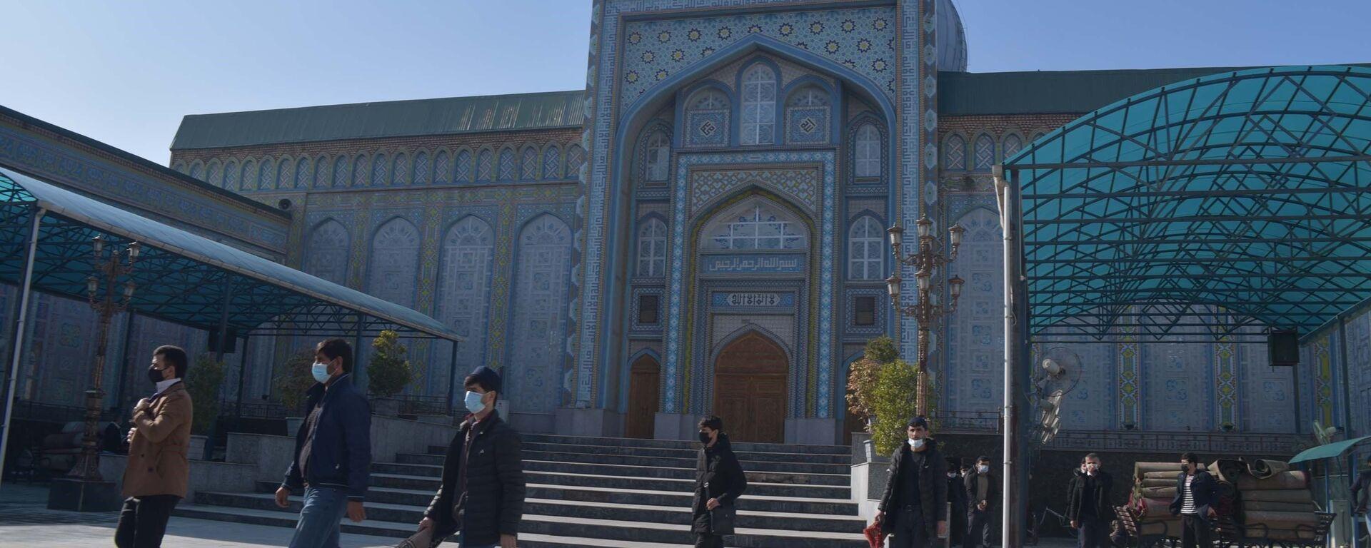 Открытие мечетей в Таджикистане - Sputnik Тоҷикистон, 1920, 01.02.2021