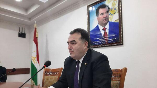 Министр энергетики и водных ресурсов Таджикистана Далер Джума, - Sputnik Тоҷикистон