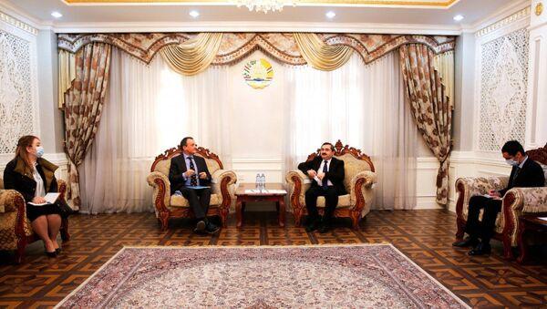Замминистр иностранных дел РТ встретился с представителем ВОЗ в Таджикистане  - Sputnik Тоҷикистон