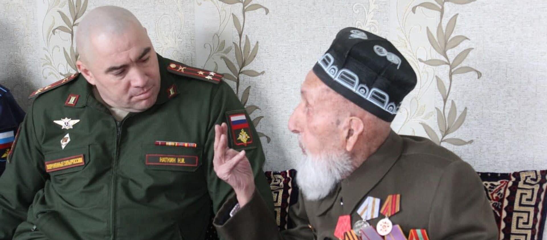 Ветеран Великой Отечественной войны Рашид Каримов - Sputnik Таджикистан, 1920, 02.02.2021