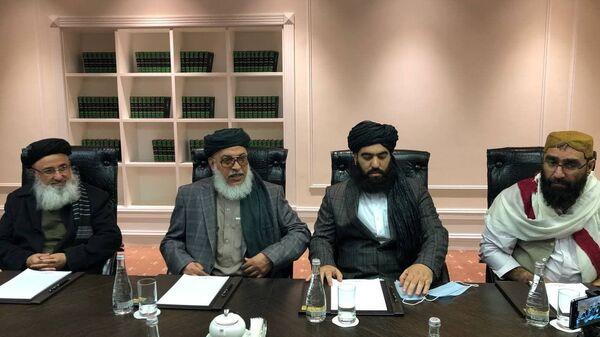 Делегация талибов приехала на переговоры в Москву - Sputnik Тоҷикистон