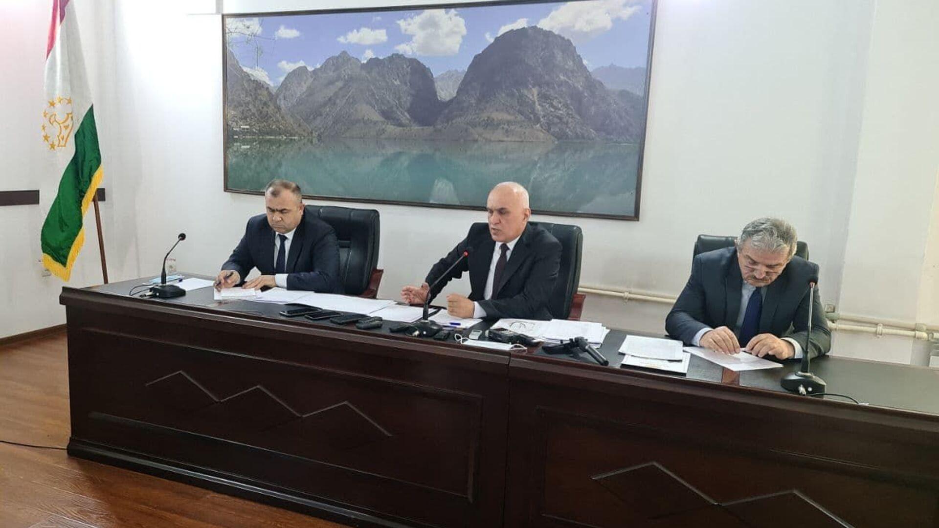 Главное управление геологии при Правительстве Республики Таджикистан - Sputnik Таджикистан, 1920, 03.02.2021