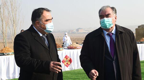 Визит президента Таджикистана в Согдийскую область - Sputnik Тоҷикистон