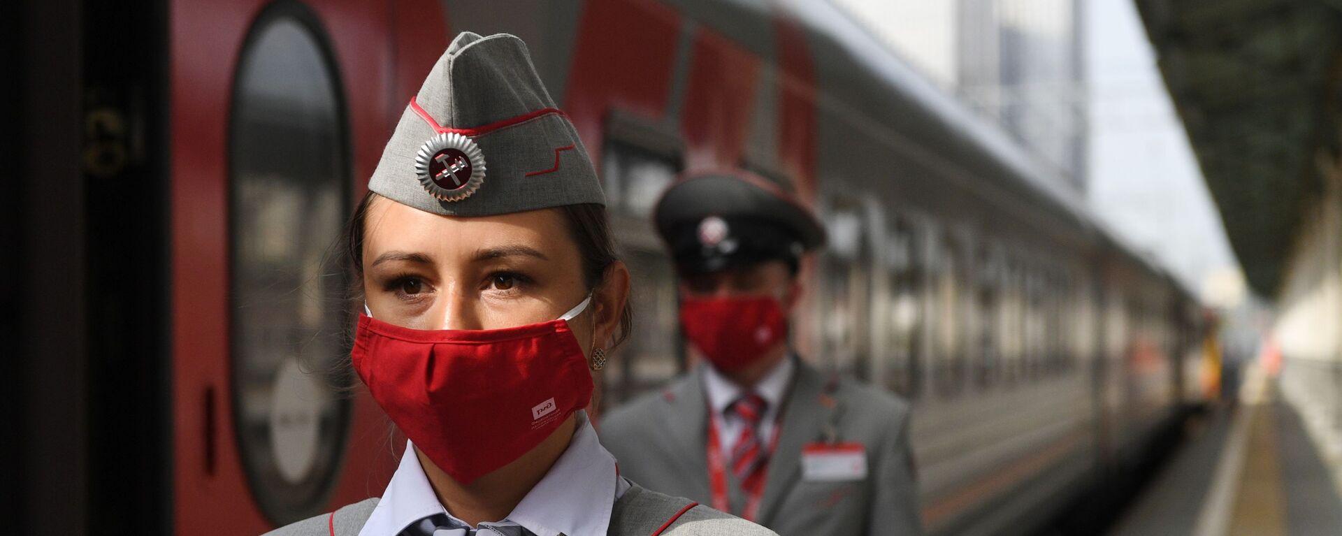 Возобновление движения поездов между Калининградом и Москвой - Sputnik Таджикистан, 1920, 16.07.2021
