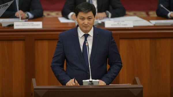 Премьер-министр Кыргызстана Улукбек Марипов - Sputnik Тоҷикистон