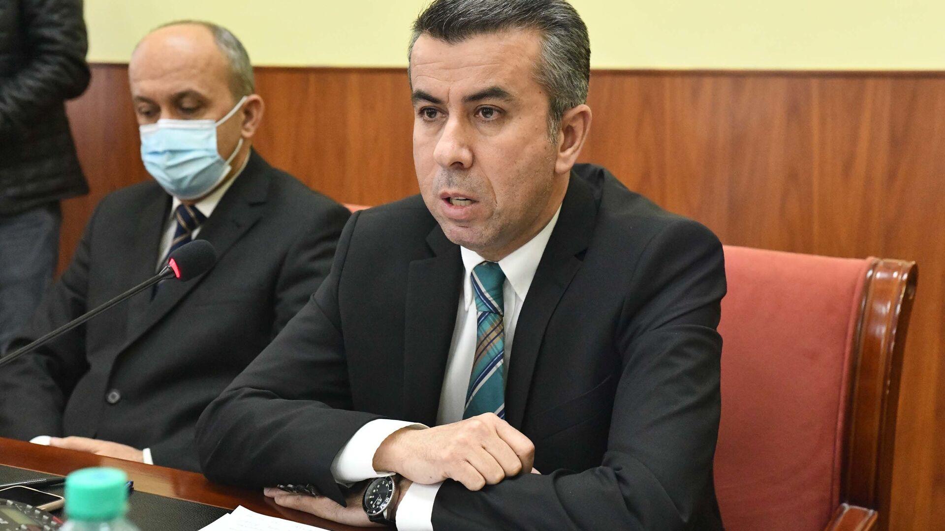 Пресс-конференция Уполномоченного по правам человека в Таджикистане - Sputnik Таджикистан, 1920, 15.07.2021