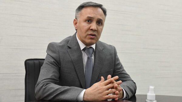Пресс-конференция Торгово-промышленной палаты Таджикистана - Sputnik Тоҷикистон