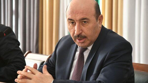 Глава Комитета по архитектуре и строительству Махмадсаид Зувайдзода - Sputnik Тоҷикистон