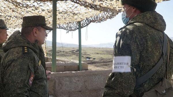 Проверка боевой подготовки - Sputnik Таджикистан