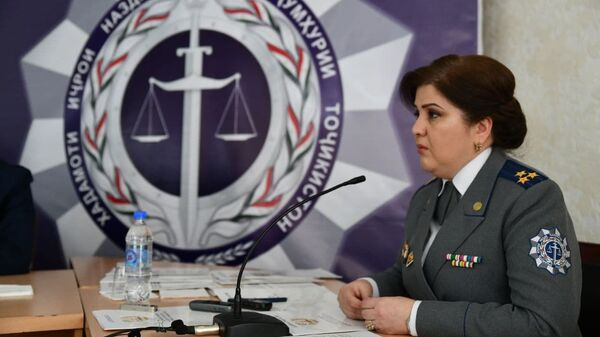 Пресс-конференция Службы исполнения при Правительстве Республики Таджикистан - Sputnik Таджикистан