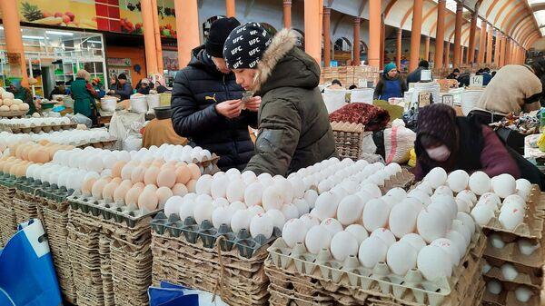 Рынок в Худжанде - Sputnik Таджикистан