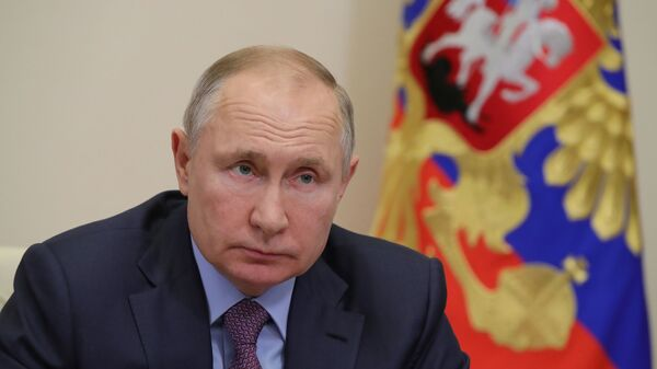 Президент РФ В. Путин провел совещание с членами правительства РФ - Sputnik Таджикистан