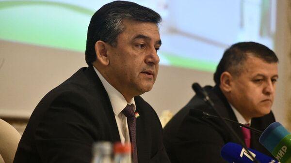 Председатель правления ГСБ РТ Амонатбанк Сироджиддин Икроми - Sputnik Таджикистан