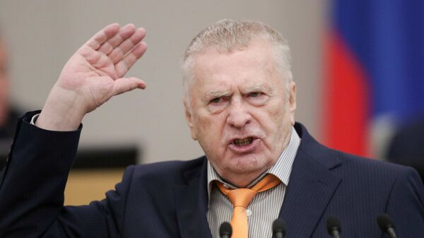 Председатель ЛДПР Владимир Жириновский - Sputnik Тоҷикистон