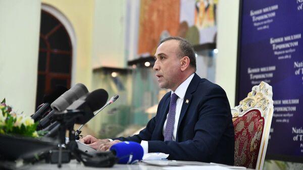 Пресс-конференция Национального банка Таджикистана - Sputnik Таджикистан
