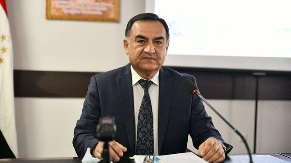 Председатель Комитета по чрезвычайным ситуациям и гражданской обороне Рустам Назарзода - Sputnik Тоҷикистон