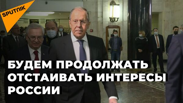 Запад ожесточенно сопротивляется попыткам РФ стать самостоятельной — Лавров - Sputnik Тоҷикистон