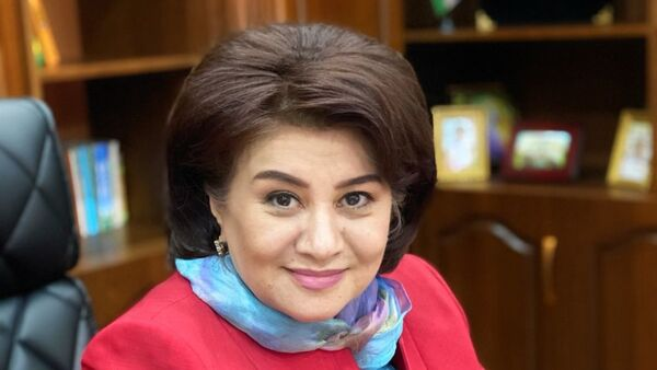Саодат Турсунбаева, архивное фото - Sputnik Таджикистан