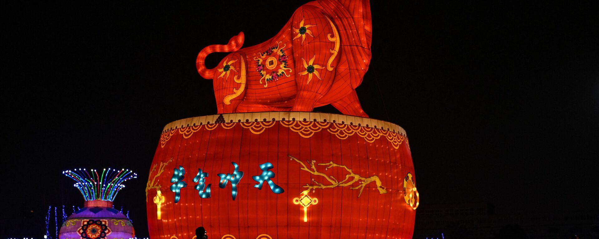 Празднование Нового года в Китае - Sputnik Таджикистан, 1920, 05.06.2021