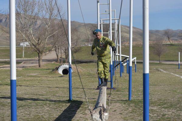 Учения на полигоне Ляур посетили ветераны афганцы - Sputnik Таджикистан