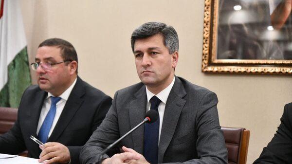 Директор Агентства гражданской авиации Таджикистана Икром Субхонзода - Sputnik Таджикистан