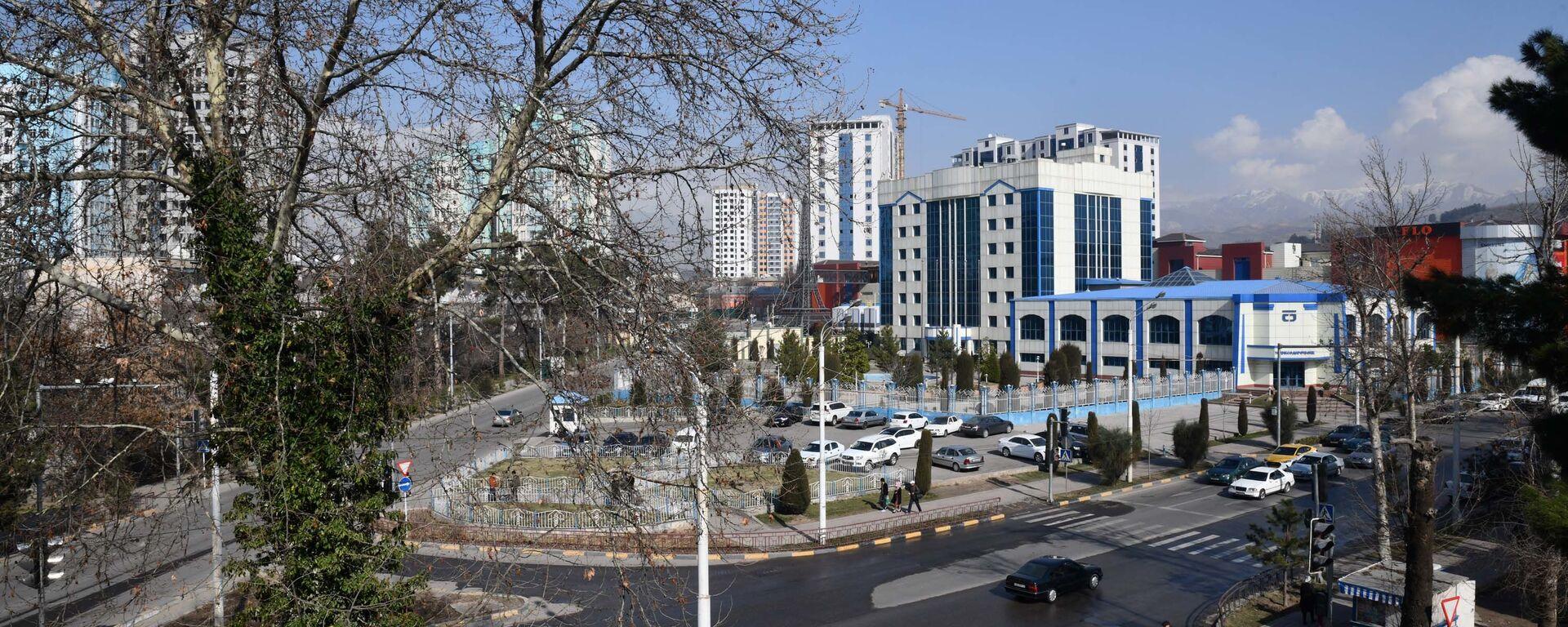 Здание Таджиксодиротбанка - Sputnik Таджикистан, 1920, 31.05.2021
