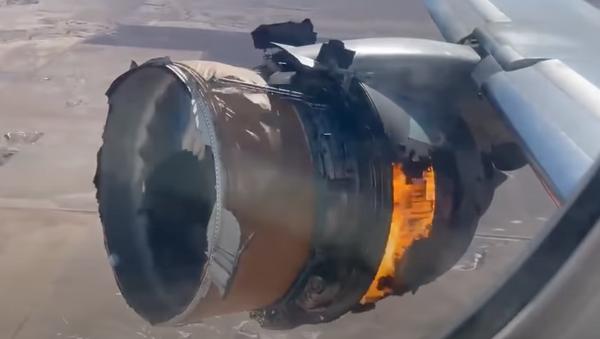 Двигатель Boeing 777 загорелся во время полета - Sputnik Тоҷикистон