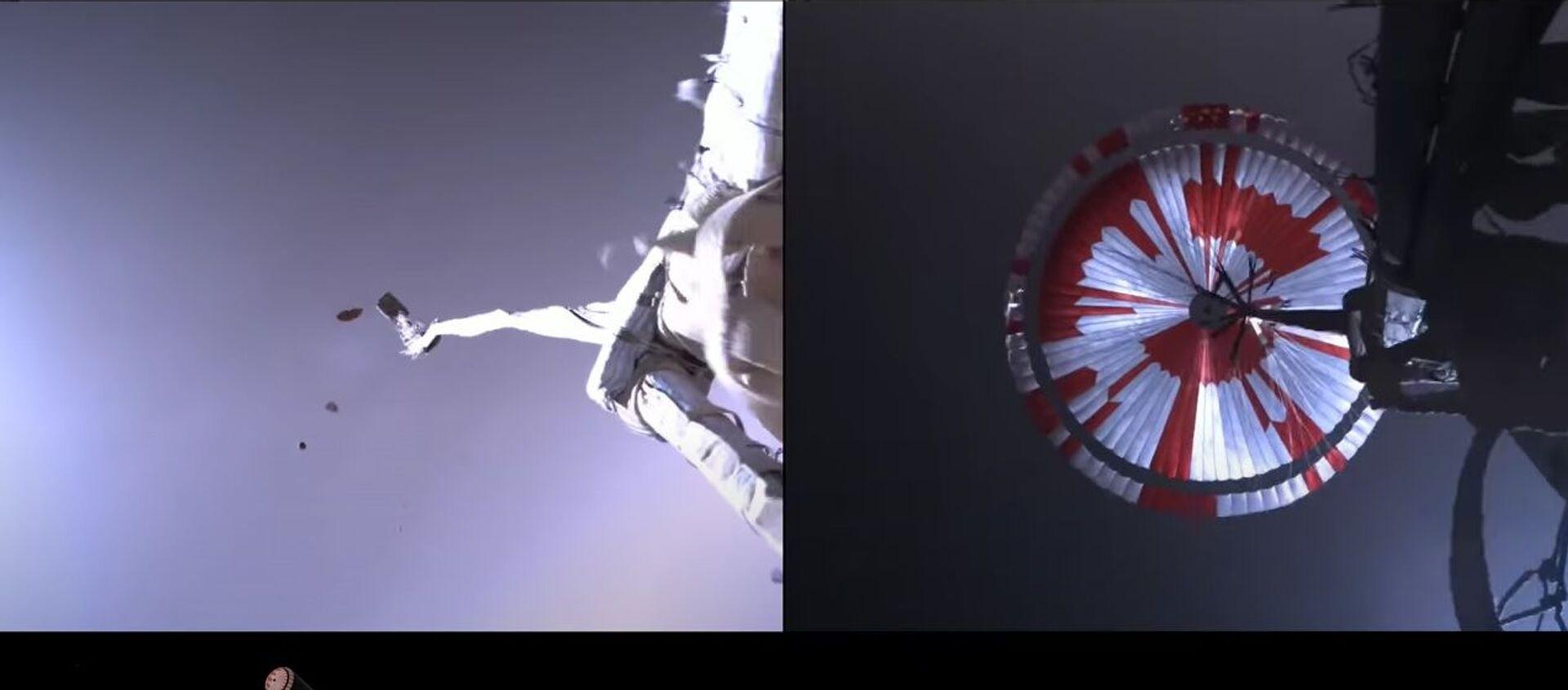 NASA опубликовало видео посадки ровера Perseverance на Марс - Sputnik Таджикистан, 1920, 23.02.2021