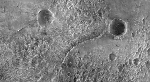 А так выглядят кратеры Марса - Sputnik Таджикистан