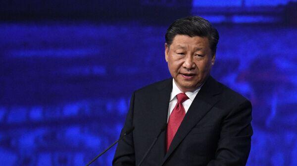 Президент Китая Си Цзиньпин - Sputnik Тоҷикистон