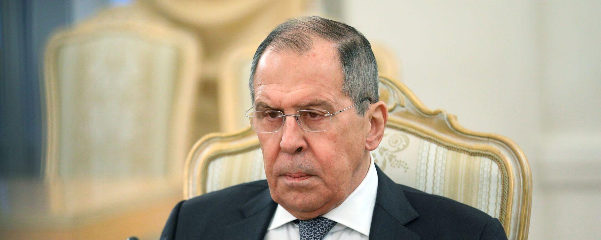 Министр иностранных дел РФ Сергей Лавров - Sputnik Таджикистан, 1920, 09.07.2021