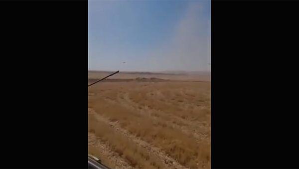 Вертолет российских ВКС Ми-35 совершил вынужденную посадку в Сирии - Sputnik Тоҷикистон