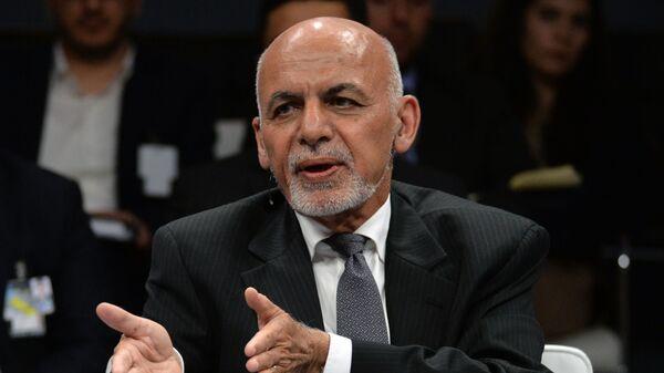 Президент Афганистана Ашраф Гани - Sputnik Тоҷикистон