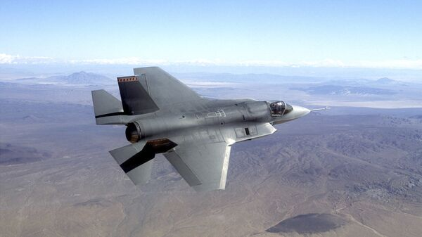 Истребитель F-35 - Sputnik Тоҷикистон
