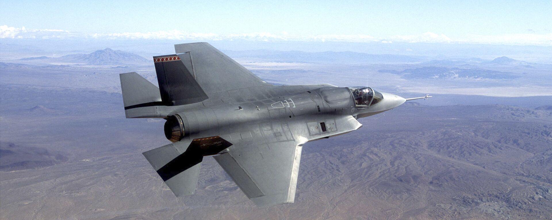 Истребитель F-35 - Sputnik Тоҷикистон, 1920, 30.09.2021