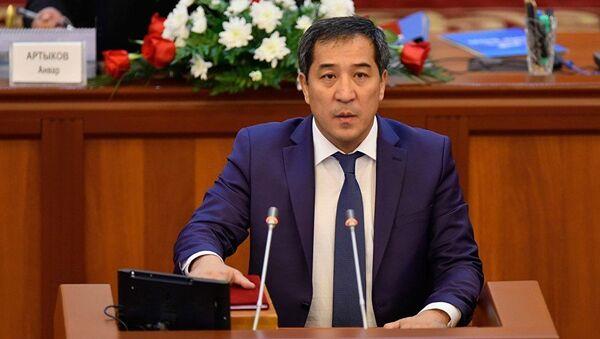 Депутат ЖК Абжалиев Алиярбек. Архивное фото - Sputnik Таджикистан