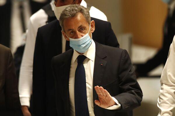 Бывший президент Франции Николя Саркози - Sputnik Таджикистан