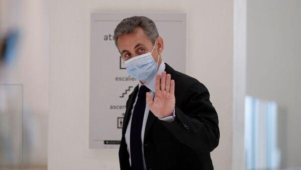 Бывший президент Франции Николя Саркози - Sputnik Тоҷикистон